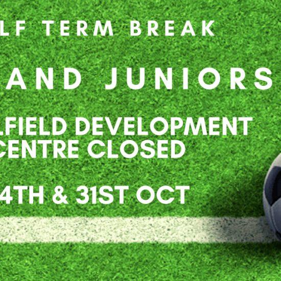 Half term closure