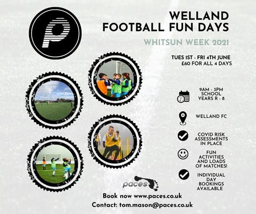 Welland Football Fun Days